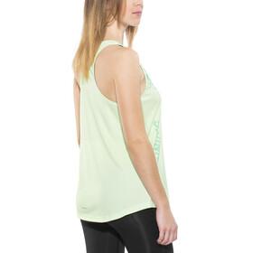 adidas Response - Camiseta sin mangas running Mujer - Turquesa